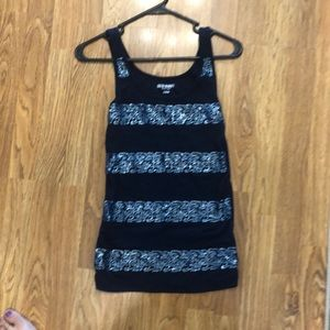 Navy old navy tank top